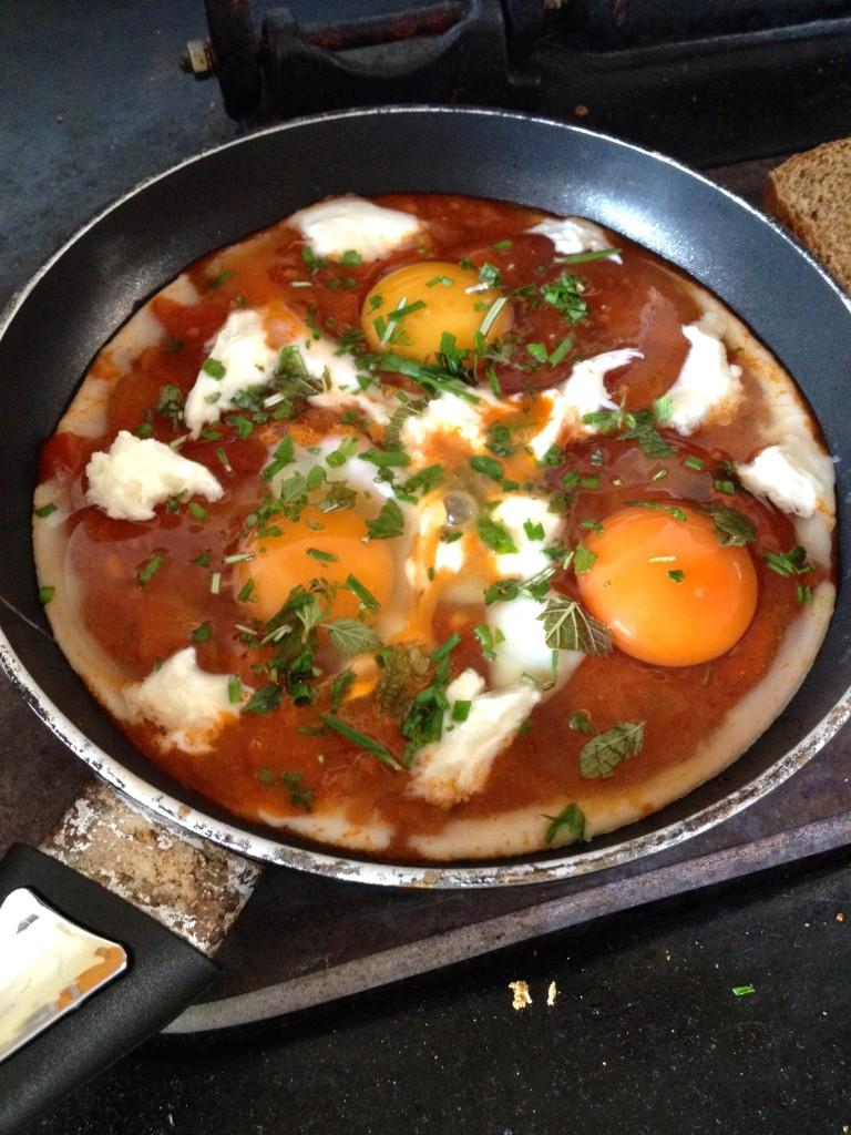 dippy eggs herbs
