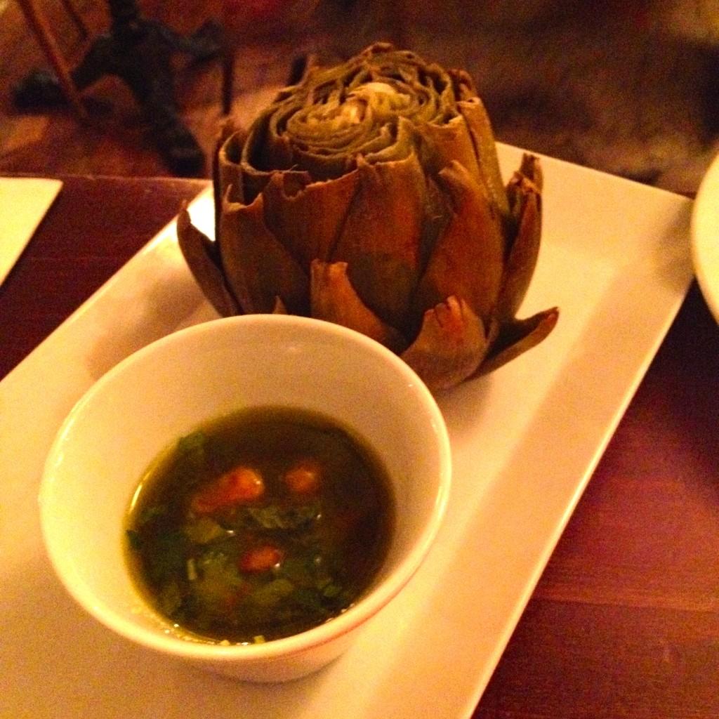 Whole artichoke