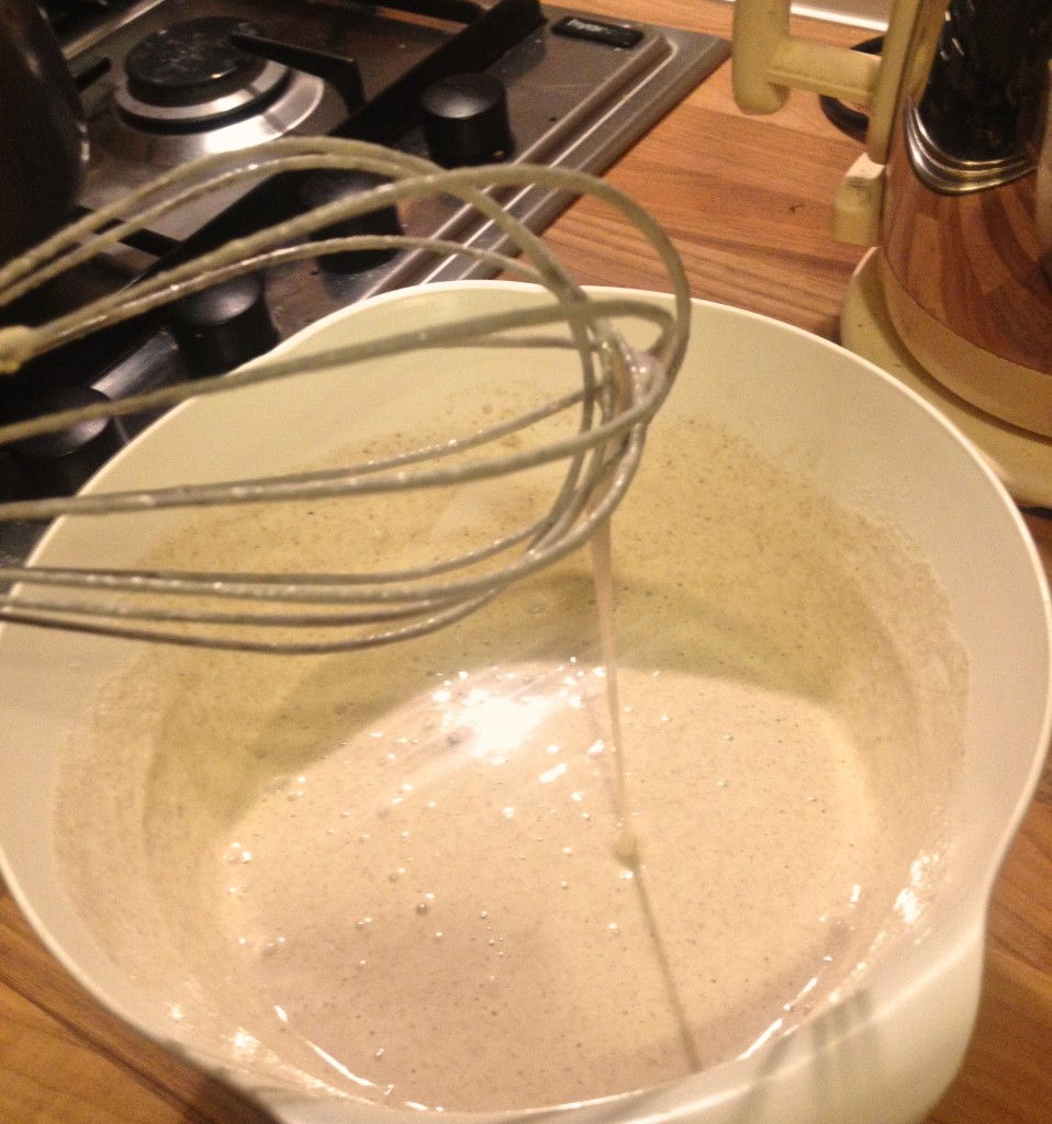 buckwheat crepe batter