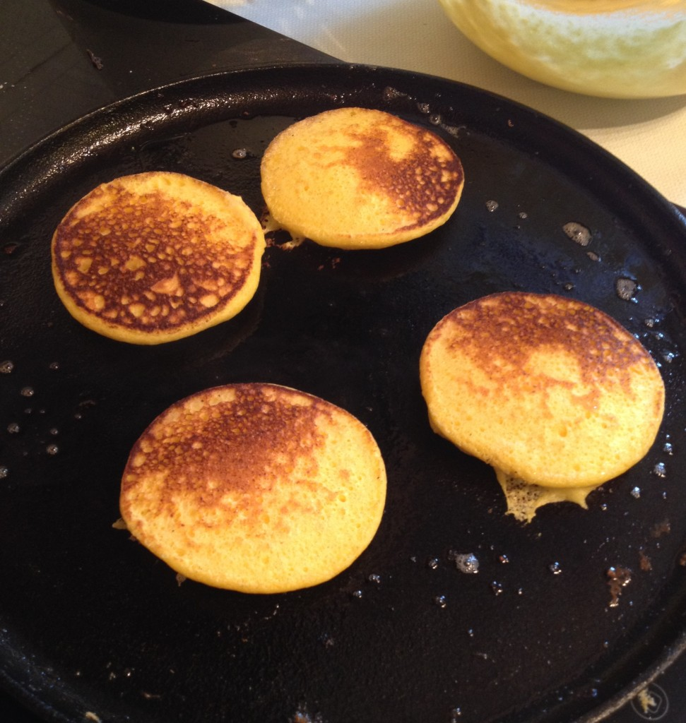 Ricotta drop scones